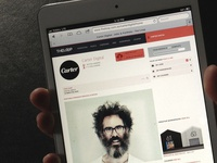 The Loop UX Re-Design: iPad Mini