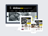 NGV: Melbourne Now responsive website and mobile apps