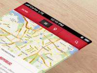 UX Re-Design (Map)