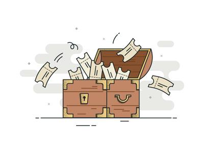 Coupon Treasure Box