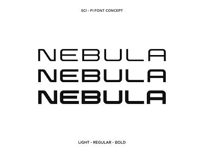 Sci-Fi Font Concept type type design illustrator poster logo sci-fi black bold design simple display font typeface typogaphy