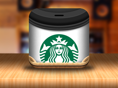 Take Away Coffee Cup Icon app ios icon app icon coffee loyalty cup starbucks