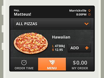 Mobile Ordering mobile ordering mobile web pizza online ordering