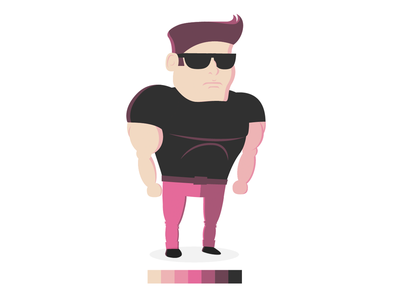 Beat Em Up Character vector character game