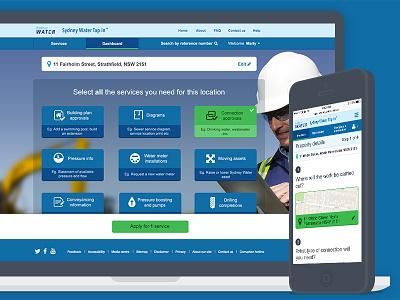 Tap In ui ux design web mobile accessibility web app responsive