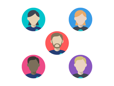 Default Avatars vector default avatar illustration