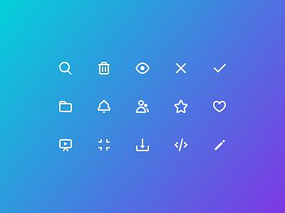 New Icon Style icon set outline illustration icon