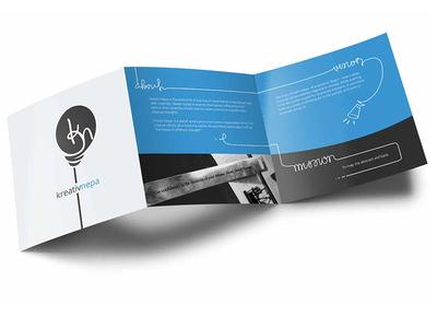 Brochure design for kreativnepa