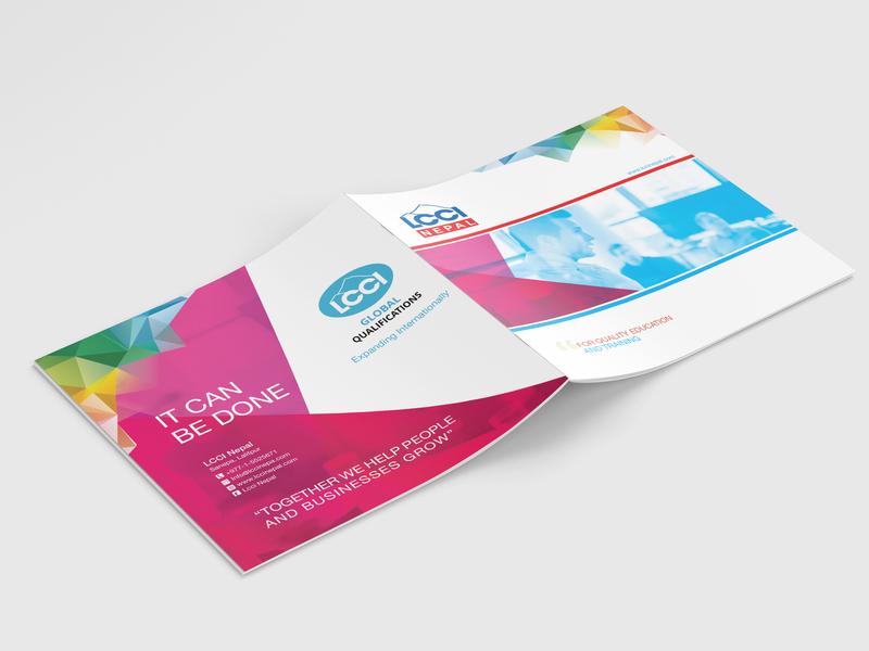 LCCI Nepal Brochure Design