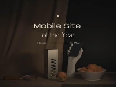 The 8760: Mobile Site of the year ui design ico marketing voronoi neon gyroscope interaction mobile dark annual award award winning bachoo wow geometry clean bachoodesign awwwards animation abstact