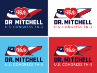 Dr. Mitchell Candidate for U.S. Congress branding