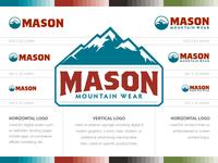 Mason Mountain Wear Logo Guidelines