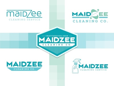 MaidZee Cleaning Co. logo