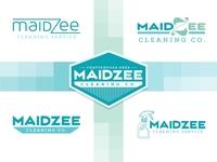 MaidZee Cleaning Co. logo