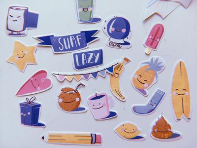 Mini stickers set