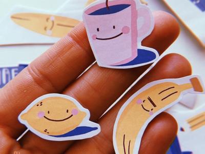 Mini stickers