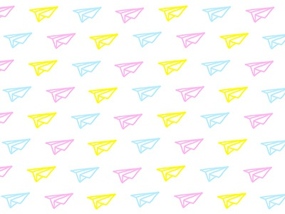 Lovely planes color graphicdesign pattern illustration