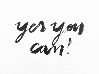 Motivation blackandwhite inspiration graphicdesign brushlettering handlettering lettering