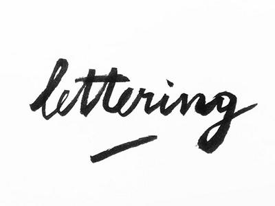 Lettering blackandwhite inspiration graphicdesign brushlettering handlettering lettering