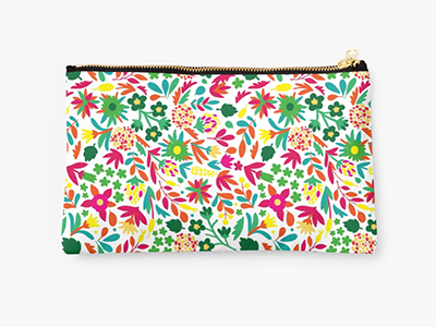 Paraiso graphicdesign design pattern tropical flowers