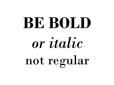 Be Bold! minimalist inspiration quote words blackandwhite graphicdesign typography