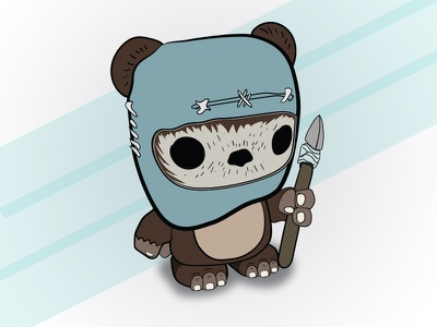 Ewok Bobblehead cute bobblehead ewok