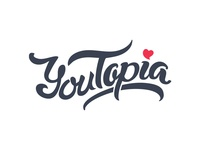 Lettering Youtopia
