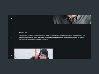 Portfolio layout layout ui design web design minimal portfolio