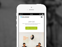 HelloSign Responsive Careers Page