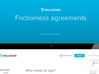 HelloSign Product Redesign