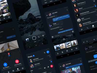 Telegram Messenger for Android – Dark mode