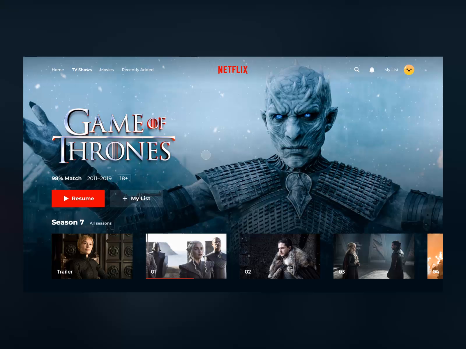 Netflix concept final