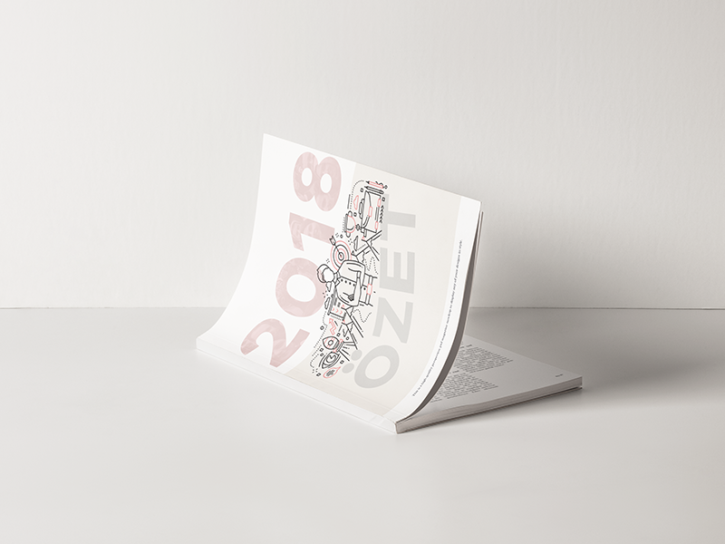 Karaca / print work art direction editorial color print typography layout creative design minimal