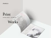 Karaca / print work
