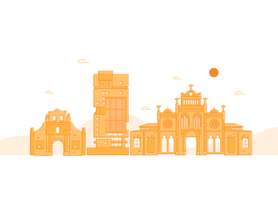 Do you know the way to San José? web ui mobile illustration flat minimal vector clean app design san jose