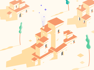 Hot Like Sauce web ui mobile illustration flat minimal vector clean desert design isometric