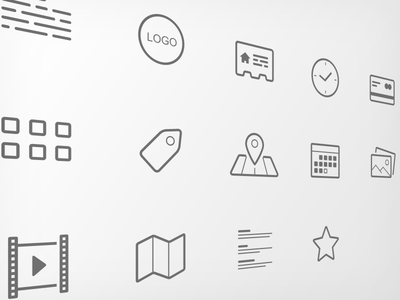 project icon set