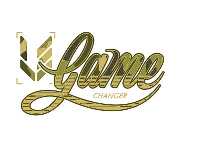 Gamechanger V2 typo typography game