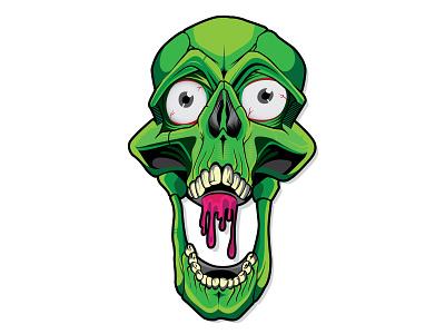 Destroy to Create skull art evil vector skull
