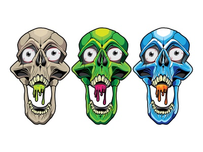 Destroy to create skulls