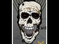 Scull Evil