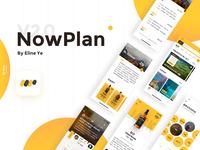 NowPlan Travel App Interface