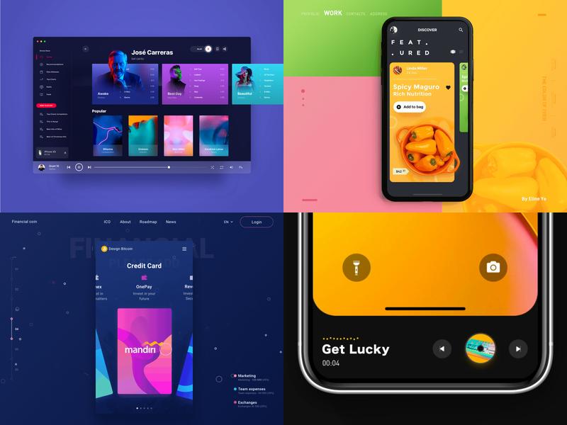2018 Thank u webdesign design uidesign motion color logo icon interface ux ui  ux design ui brand