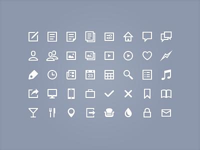 Large icons icon iconset