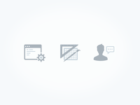 Jobs page icons
