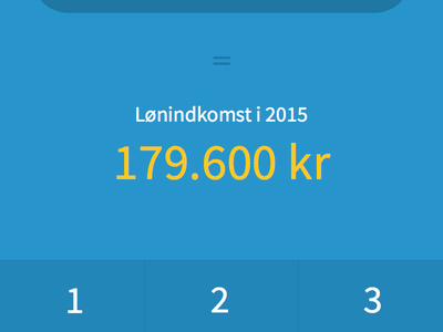 Calculate Income WIP blue yellow input wip app taxes calculate