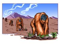 Orangutan Parade