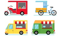 Mobile Street Food Shop