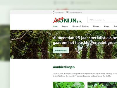 E-commerce design for Leen Konijn B.V. user experience user interface ux ui  ux ui bootstrap sketch e-commerce design woocommerce webshop ecommerce e-commerce