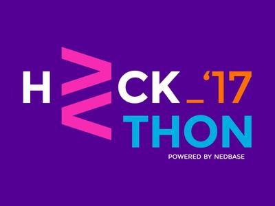 Hackathon typography branding logotype logo hackathon